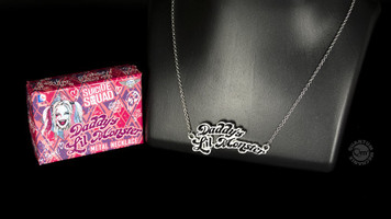 Harley Quinn - Daddy's Little Monster Necklace