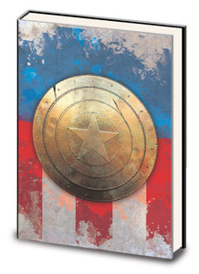 Captain America - Metal Shield Journal