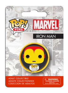 POP! Pins: Marvel - Iron Man (Classic)