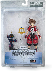 EXCLUSIVE: Kingdom Hearts Sora Red Valor Form Figure
