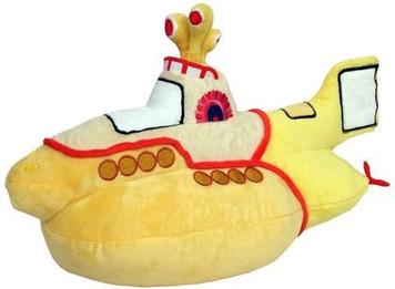 The Beetles - Yellow Submarine Plush Toy