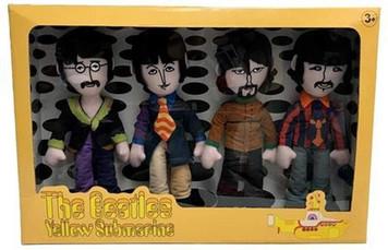 The Beetles - Yellow Submarine Band Members Plush 4 Pack