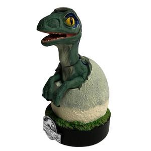 Blue Raptor Hatchling Premium Motion Statue