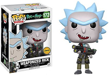 POP! Animation: Rick & Morty - Weaponized Rick (Chase Edition)