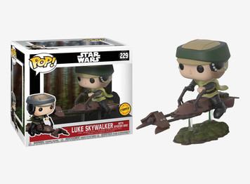 POP! Star Wars: Episode 6 - Luke on Speeder Bike (CHASE)