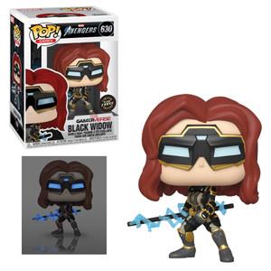 POP! Games: Marvel Gamerverse - Black Widow (CHASE Edition)