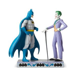 Batman and Joker Figurine