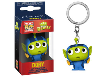 POP! Keychain: Pixar Alien Remix - Alien as Dory