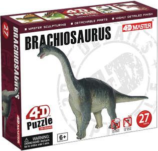 4-D Puzzle - Brachiosaurus