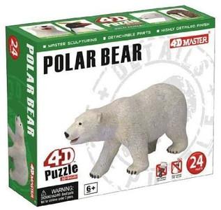 4-D Puzzle - Polar Bear