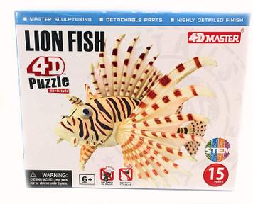 4-D Puzzle - Lion FIsh
