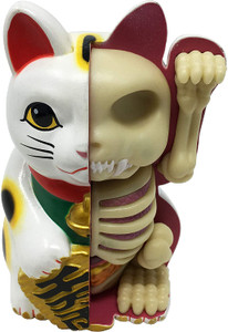 XX-Ray Fortunte Cat Figure
