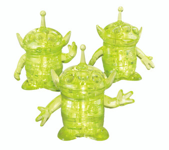 Toy Story Aliens 3D Crystal Puzzle