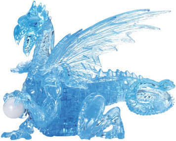 Blue Dragon 3D Deluxe Crystal Puzzle