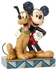 Mickey & Pluto Figurine