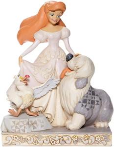 White Woodland Ariel w/ Max Figurine