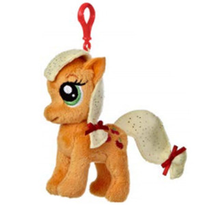 My Little Pony Plush Doll Applejack Clip-On