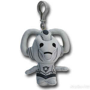 Doctor Who Talking Plush Clip-on - Cyberman
