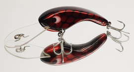 """Eddy Lures 80mm Dam Buster """" Red Candy """""""