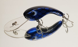 "Eddy Lures 80mm Dam Buster "" Blue Candy """