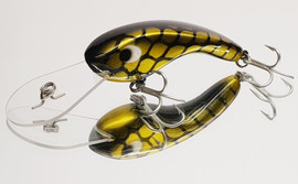 "Eddy Lures 80mm Dam Buster "" Gold Candy """
