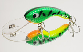 """Eddy Lures 80mm Dam Buster """" Fire Tiger """""""