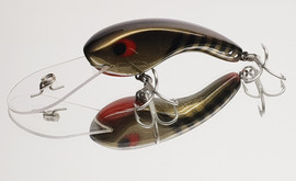 """Eddy Lures 80mm Dam Buster """" Black Pearl """""""