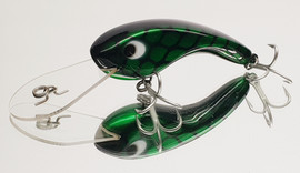 "Eddy Lures 80mm Dam Buster "" Green Candy """