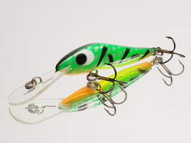 """Eddy Lures 60mm Wasp """" Fire Tiger """""""