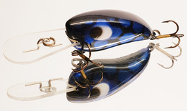 "Eddy Lures 50mm Mini Buster ""Blue Candy"""