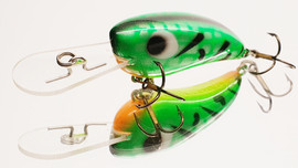 "Eddy Lures 50mm Mini Buster ""Fire Tiger"""