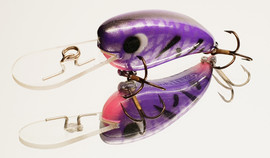 "Eddy Lures 50mm Mini Buster ""Purple Pink"""