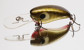 "Eddy Lures 50mm Mini Buster ""Yellow belly"""