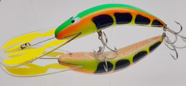 "JD 140mm Python Crash Dive ""Fluoro Yabby"""