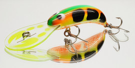 "JD 65mm SUPER BUG ""Fluoro Yabby """
