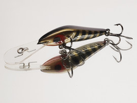 "Eddy Lures 60mm Wasp "" Black Pearl """