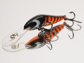 "Eddy Lures 60mm Wasp "" Blorange """