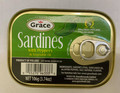 Grace Sardines with Green and Black label