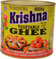 Krishna Vegetable Ghee in tin can
