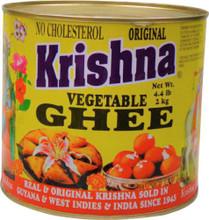Krishna Vegetable Ghee in tin can