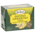 Instant Ginger Tea lemon in green box