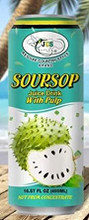 JCS soursop drink  in can