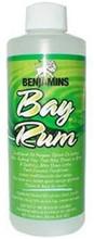 Bay Rum in a plastic bottle