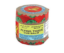 Tiger balm in Red and Yellow wrapping