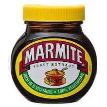 Marmite in glass bottle