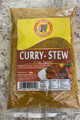 Curry stew in plastic packet