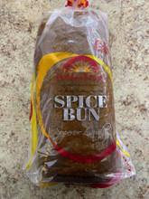 Spice bun  in plastic