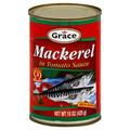 Grace Jack Mackerel in Tomato Sauce 15oz