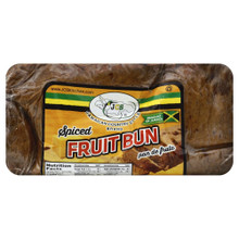 Spiced Fruit Bun in packaging