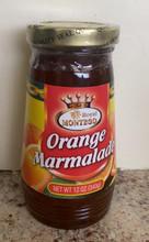 Orange Marmalade in bottle